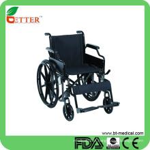 Cadeiras de rodas dobráveis de alumínio manual dobráveis