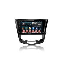 kaier usine -Quad core + Full touch Android 4.4.2 voiture dvd pour X-trail + 1024 * 600 + lien mirrior + TPMS + directement usine