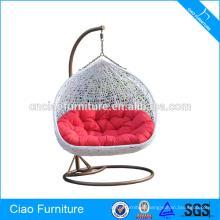 Outdoor Furniture Wicker Double Rattan Hanging Chair