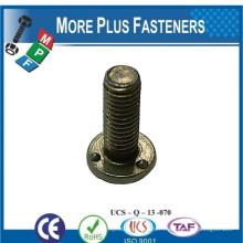 Made In Taiwan DIN 34817 Weld Bolt With Metric Thread Plain Zinc Plated or Hot Dip Galvanized
