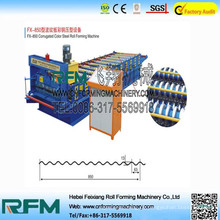 FX-Wellblechherstellungsmaschine