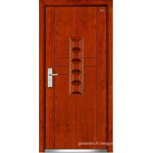 Porte en acier en bois (LT-322)