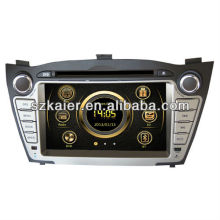 Reproductor multimedia Wince 6.0 para Hyundai IX35 / Tucson con GPS / Bluetooth / Radio / SWC / Virtual 6CD / 3G internet / ATV / iPod / DVR