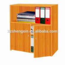 Estante de casa de madeira Estante de escola Gabinete de arquivo de madeira sólida