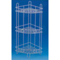 Sudut Dilapisi Shower Caddy