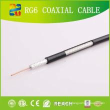 16 ans Fabrication professionnelle Produire le câble coaxial RG6 avec ETL RoHS CE (RG6)