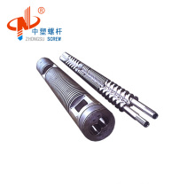 high quality parallel twin screw  barrel for WPC grandule making machine
