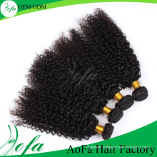 100%Unprocessed Indian Curly Virgin Hair Remy Human Hair Extension