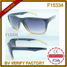 Unsex Individualität Multicolor Sonnenbrille mit kostenlose Probe (F15334)