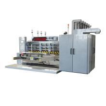 High speed automatic flexo printer die cutter slotter corrugated cardboard carton box packaging machine