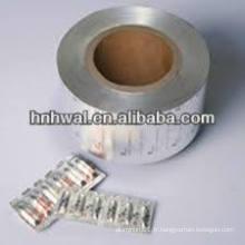 PTP Blister en aluminium pour usage pharmaceutique