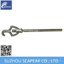 Chave ajustável de aço inoxidável para acoplamento