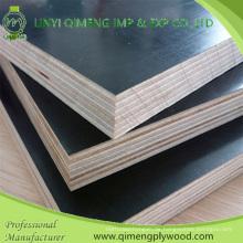 Hardwood Core Construction Grade Braun Schwarz 15mm Film konfrontiert Sperrholz
