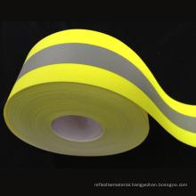 FR reflective Fabric Tape for Fireman Uniform