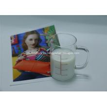 Recubrimiento de inyección de tinta a base de agua para materiales de poliéster