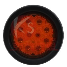 DOT Approved 4inch Round Tail Stop Turn Reverse Light 2 Year Warranty Waterproof