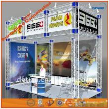 Portable Exponate Fachwerkständer Display Fachwerk Stand im Freien Ausstellungsstand