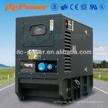 15kW ITC-Power schalldichter Diesel Generator Set elektrisch