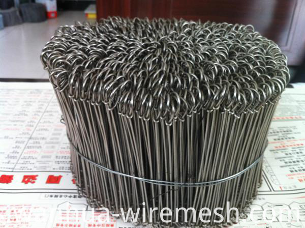 18gauge 7 inches double loop galvanized steel wire ties (2)