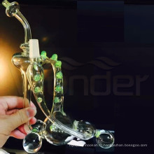 Wonder Brand New Design Pipes en verre de narguilé Pipes de fumer de l'eau