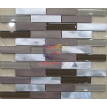 Aluminium Mix Crystal Mosaic Tile (CFA53)