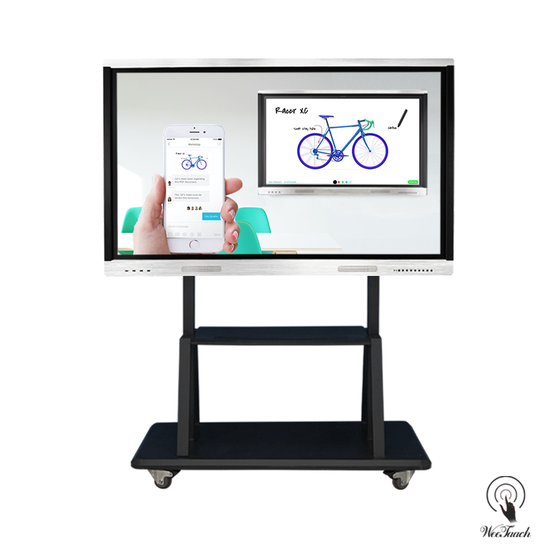 Weetaach 65 Inches Interactive Smart Panel With Mobile Stand