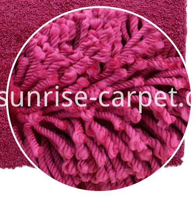 elastic shaggy carpet with low price