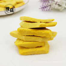 Gold supplier direct sale freeze dried pumpkin chips from China