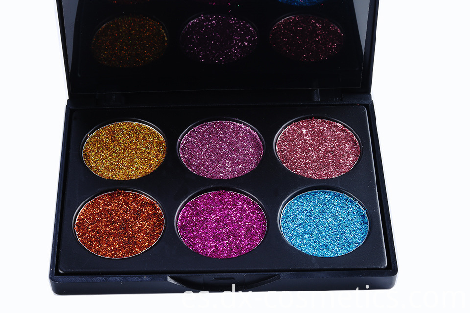 6 Colors beauty Gligger Eye Shadow 14