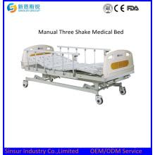 Mobiliario Hospitalario Manual de Tres Funciones Cama Médica Precio