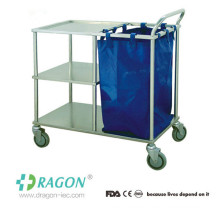 DW-TT211 Cheap Stainless Steel cleaning service trolley