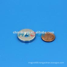 25X4mm NdFeB NIB Neo ndfeb round magnets with hole