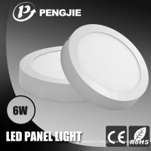 Lumière de panneau de surface de 6W LED pour l'intérieur avec du CE (PJ4036)