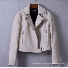 Neue Design Heiße Verkäufe Frauen Echte Lederjacke