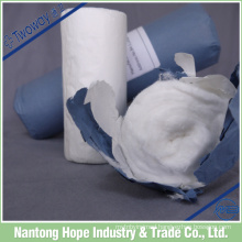 Medical breathable cotton roll rolled with craft paper