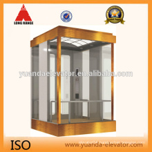 Square sightseeing glass lift