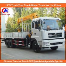 6*4 Dongfeng 8tons 12tons 16tons XCMG Timber Loading Crane