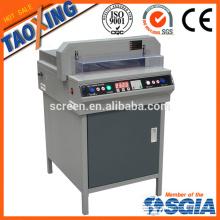 electric paper cutting machine/automatic paper cutter/program paper guillotine