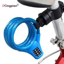 Rückstellbare Kombinations-Code-Kabelschloss für Fahrrad