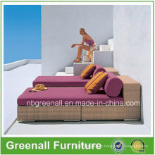 Outdoor Rattan Wicker Luxury Chaise Lounge