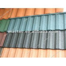 stone coated metal roof tile machine
