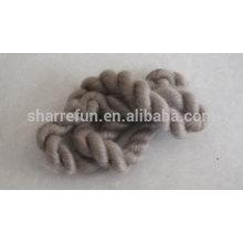 Тончайший китайский кашемир топы коричневый 16.5 микрофон/44мм