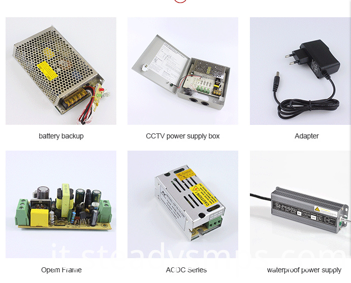 cctv power supply product