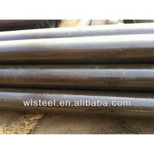 astm a53 / a106 ms peso de tubos redondos