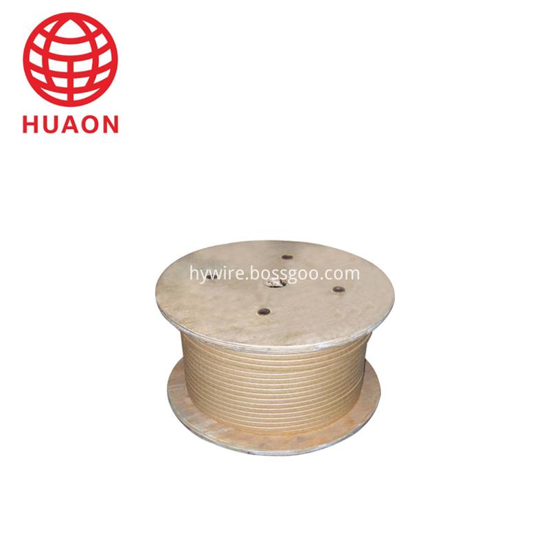 Glass-fiber Covered Copper Rectangular Wire