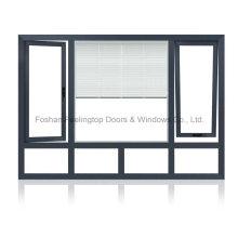 Ventaja de aluminio inclinable ventana de giro competitivo (FT-W135)