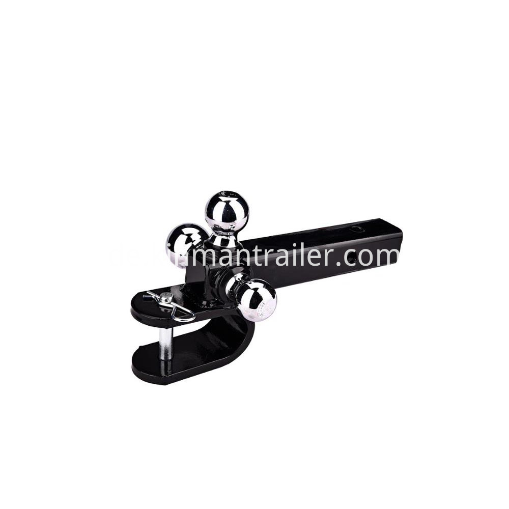 triple ball mount trailer hitch