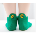 Kids Baby Cute Embroidery Cotton Low Cut Socks