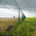 panneau de clôture de grillage soudé incurvé