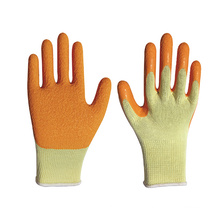 Cheap Kids Grip Rubber Palm Coated Stretch Knit Work Gloves With Large
